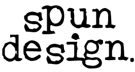 Spun Design. Logo